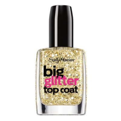Sally Hansen Big Glitter Top Coat - Blue Moonlight