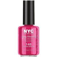 New York Color Long Wearing Nail Enamel Fuchsia Glamour 0.45 fl oz - DEL LABORATORIES INC.