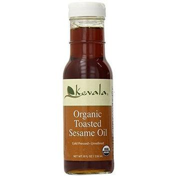 Kevala Organic Toasted Sesame Oil, 8 Ounce