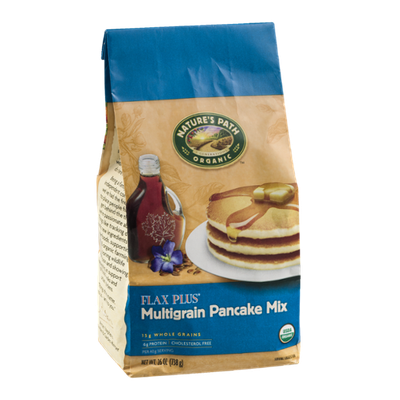Nature's Path Organic Flax Plus Multigrain Pancake Mix