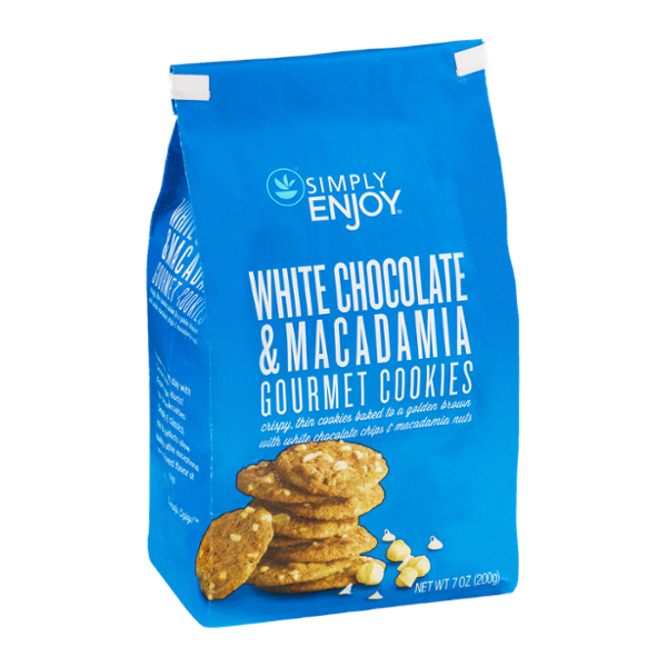 Simply Enjoy White Chocolate & Macadamia Gourmet Cookies
