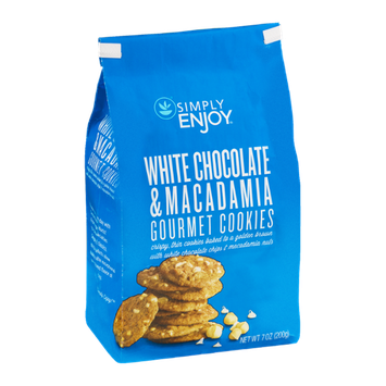 Simply Enjoy White Chocolate & Macadamia Gourmet Cookies