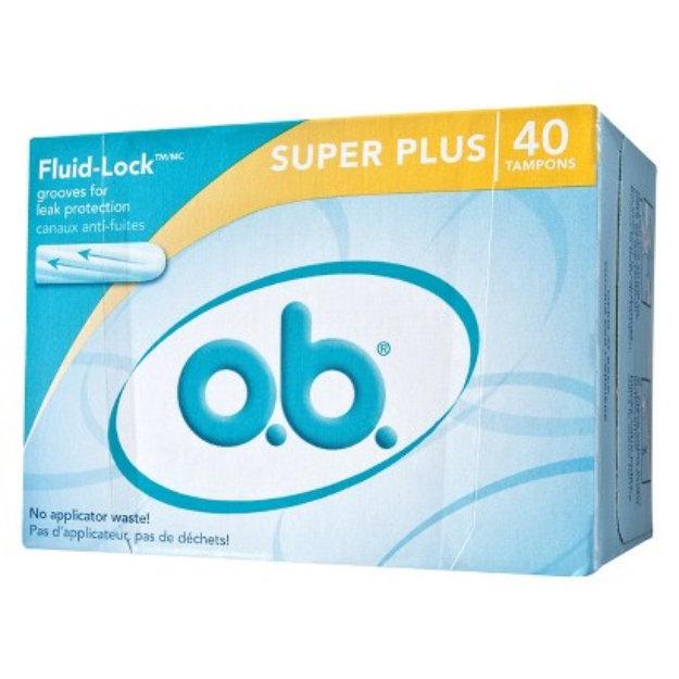 Slide: o.b. Non-Applicator Tampons
