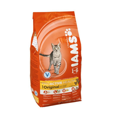 Iams ProActive Health Original with Chicken Adult 1-6 Years Premium Cat Nutrition