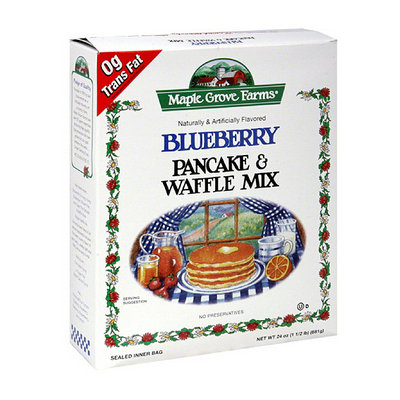 Maple Grove Farms Blueberry Pancake & Waffle Mix