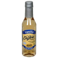 DaVinci Gourmet Sugar Free Syrup, Vanilla Syrup, 12.7-Ounce Bottles (Pack of 6)