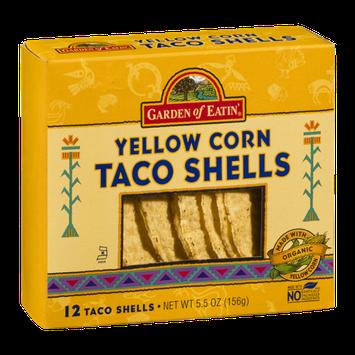 Garden Of Eatin' Yellow Corn Taco Shells - 12 CT
