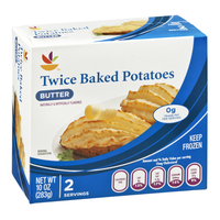 Ahold Twice Baked Potatoes Butter - 2 CT