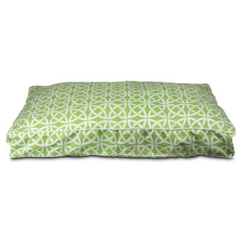 Snoozer Pool and Patio Rectangular Linked Dog Pillow Color: Lime, Size: Large (42