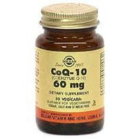 Solgar Megasorb CoQ-10 Softgels, 60 mg, 60 Count