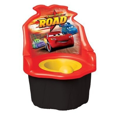 Disney Pixar Car 3 in 1 Potty Trainer, Red (Discontinued by Manufacturer)