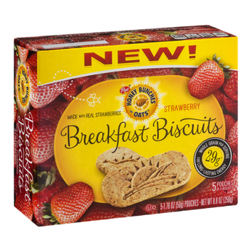 Honey Bunches Of Oats Breakfast Biscuits Strawberry (Discontinued)
