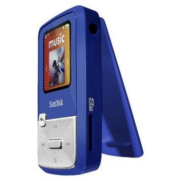 SanDisk Sansa Clip Zip 4GB MP3 Player - Blue (SDMX22-004G-A57B)