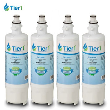 Tier1 LG LT700P 46-9690 ADQ36006101 Comparable Refrigerator Water Filter 4 Pack