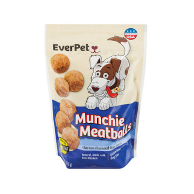 Everpet EverPet Munchie Meatballs - Chicken Flavored - 6 oz.