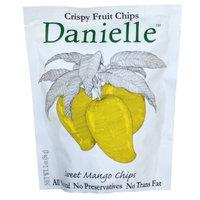 Danielle Crispy Fruit Chips, Sweet Mango, 2-Ounce Bags (Pack of 6)
