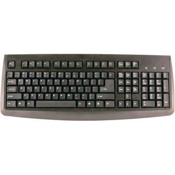 Axis AXIS GK-013 107-Key PS 2 Keyboard (Black) CP76006