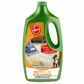 Hoover 2X PetPlus Pet Stain & Odor Remover 64 oz, AH30320