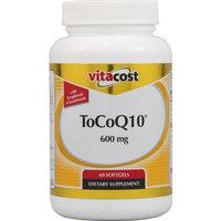 Vitacost Brand Vitacost ToCoQ10 -- 600 mg - 60 Softgels