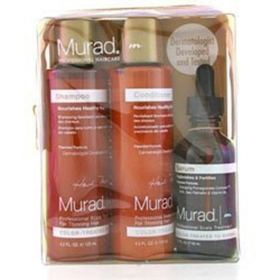 Murad Professional Scalp Treatment Starter Kit for Color Treated to Normal Hair 3 pcs.