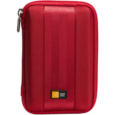 CASE LOGIC-PERSONAL & PORTABLE QHDC-101RED PORTABLE HARD DRIVE CASE