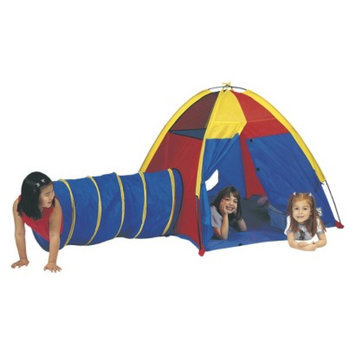 Pacific Playtents PACIFIC PLAY TENTS Hide Me Tent and Tunnel - Multicolor