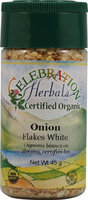 Celebration Herbals Organic Onion Flakes White 45 g