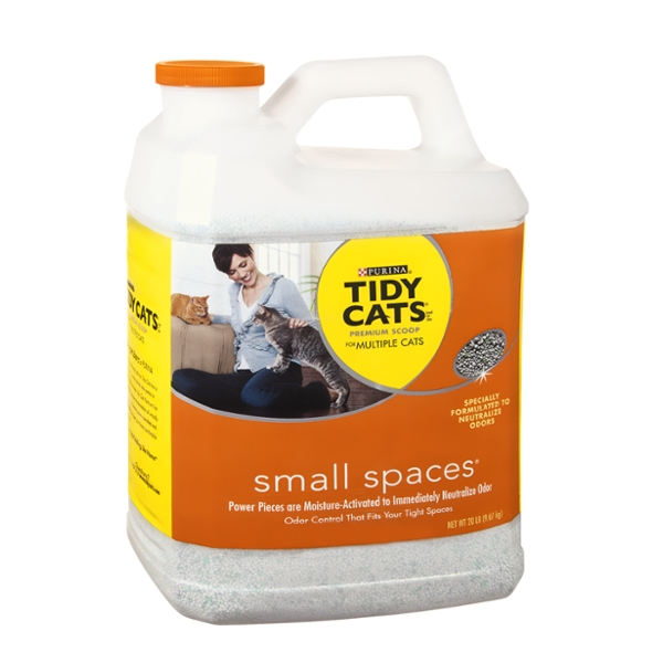 Purina Tidy Cats Small Spaces Premium Scoop for Multiple Cats Cat Litter
