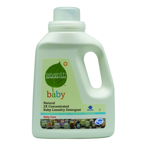 Seventh Generation Baby Natural 2X Liquid Laundry Detergent