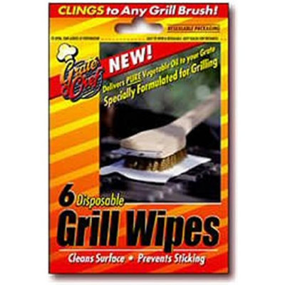 Grate Chef Grill Wipes 6/Pack (101-1200)