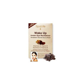 My Spa Life Wake Up Under The Eye Revitalizer, In Espresso & Vitamin E - 24 Treatments, 2 Pack Of 12