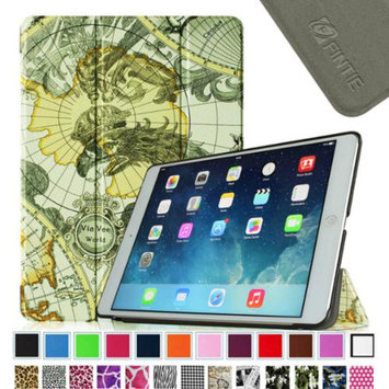 Fintie Smart Shell Leather Case Cover for Apple iPad Air (iPad 5 5th Generation), Map Design