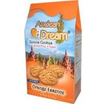 Andean Dream Quinoa Cookies Orange Essence -- 7 oz