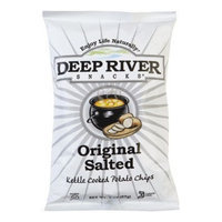 Deep River Original Salted Snacks Kettle Chips
