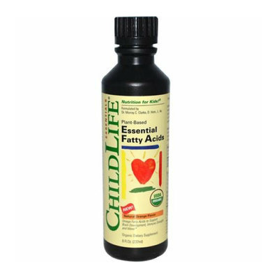 Childlife Essential Fatty Acids Natural Orange 8 fl oz