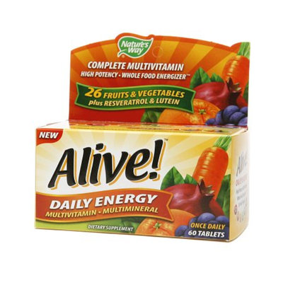 Nature's Way Alive! Daily Energy Multivitamin