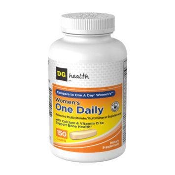 DG Health One Daily Women's Multivitamin - Caplets, 150 ct
