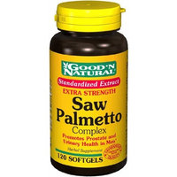 Good'n Natural Good 'N Natural - Extra Strength Saw Palmetto Extract Complex - 120 Softgels