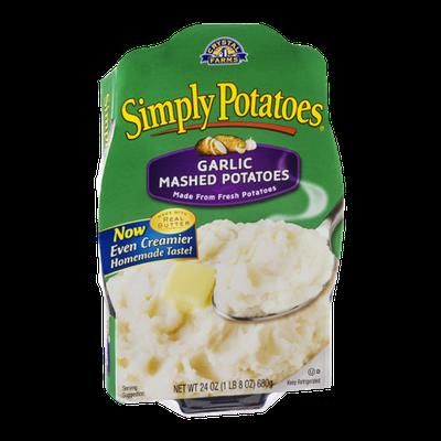 Simply Potatoes Garlic Mashed Potatoes