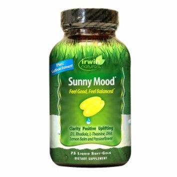 Irwin Naturals Sunny Mood, Softgels, 75 ea