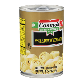 Cosmo's Whole Artichoke Hearts