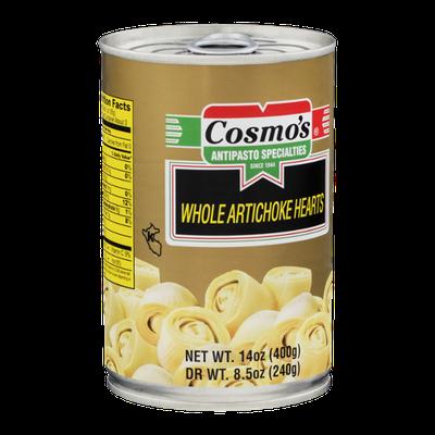 Cosmo's Whole Artichoke Hearts