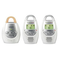 VTech Audio Baby Monitor with 2 Parent Units - DM221-2