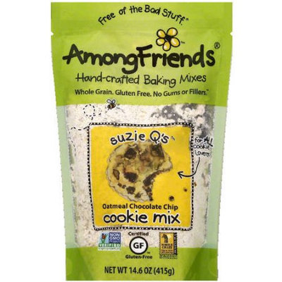 Among Friends Suzie Q's Oatmeal Chocolate Chip Cookie Mix, 14.6 oz, (Pack of 6)