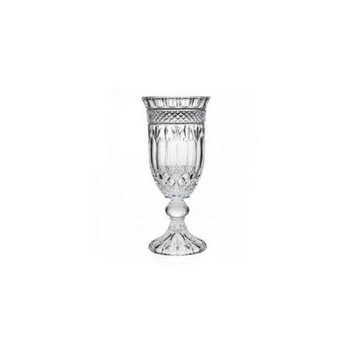 Godinger 4281 Crystal Brandon Hurricane / Vase with Candle