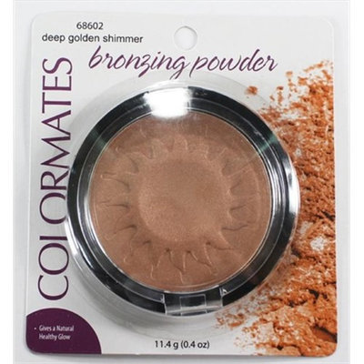 Colormates Bronzing Powder Gold Shimmer Pack Of 4