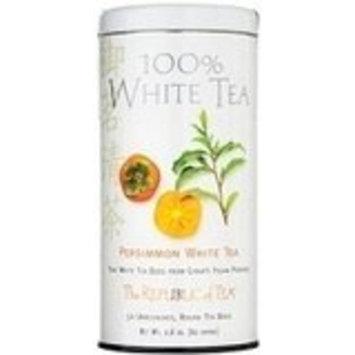 The Republic Of Tea REPUBLIC OF TEA Persimmon White Tea (50 Tea Bags)