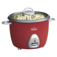 Rival 6-Cup Rice Cooker - Red (RC61)
