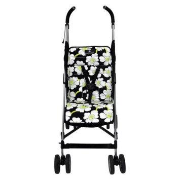 Balboa Baby Stroller Liner - Lime Poppy