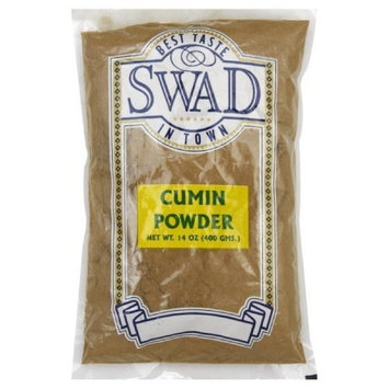 Swad Seasoning Cumin Powder, 14-Ounce (Pack of 5)